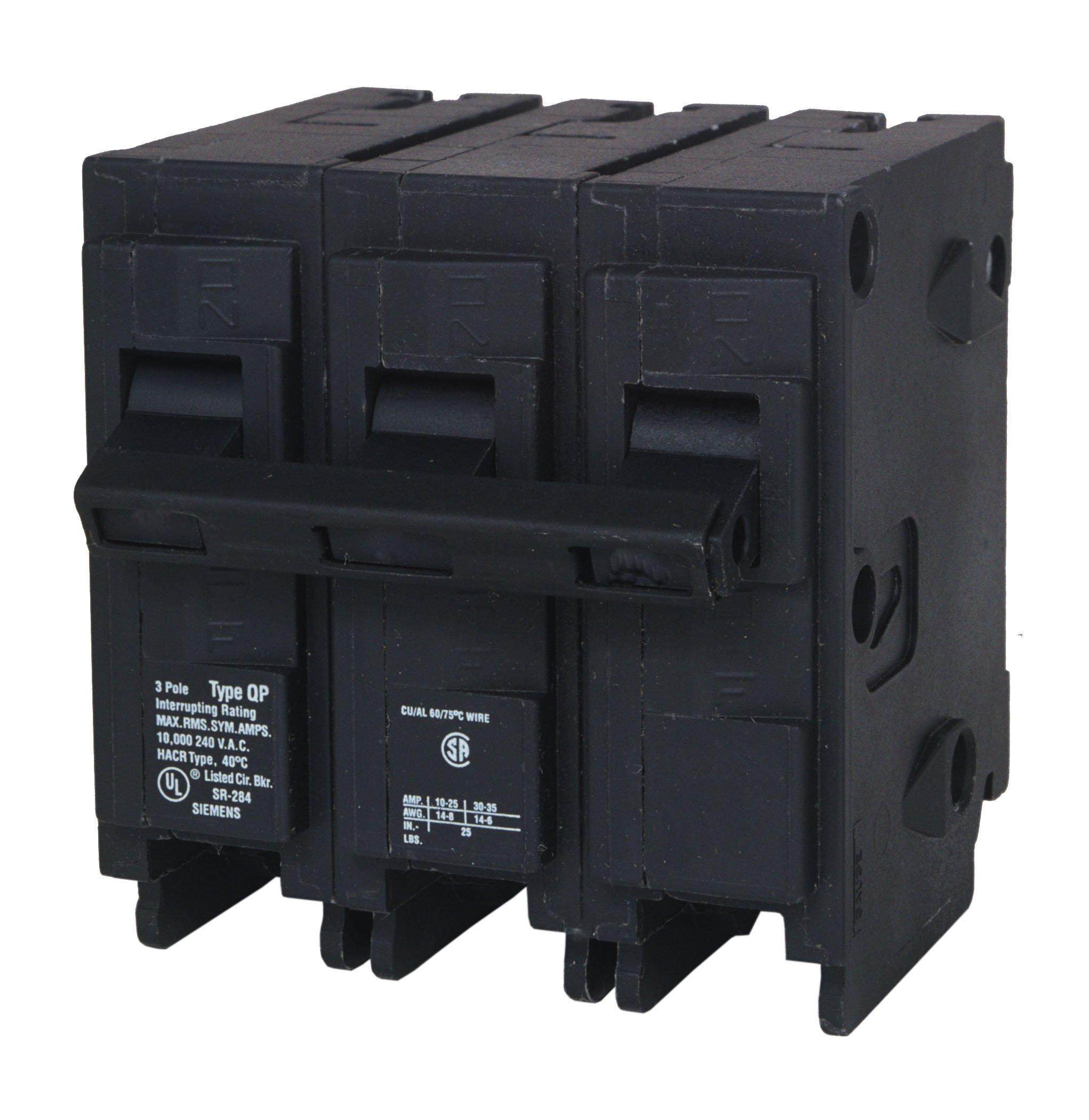 Q390 90-Amp Three Pole Type QP Circuit Breaker