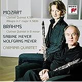 Mozart,Brahms: Clarinet Quintets