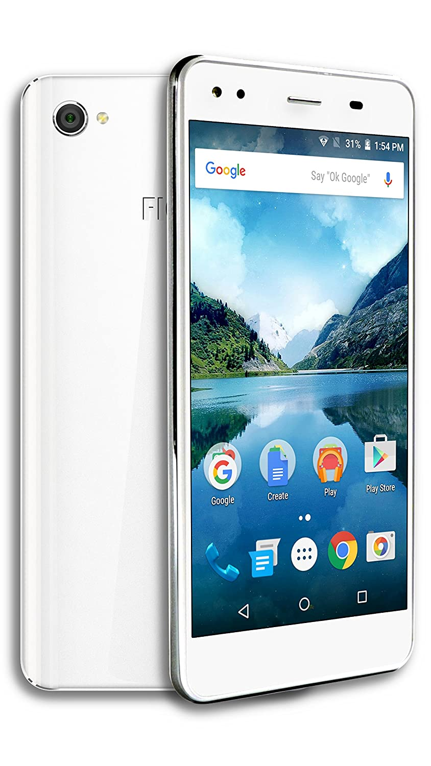 FIGO Atrium 5.5 - Dual Micro SIM Unlocked 16GB Smartphone - US & International GSM 4G LTE