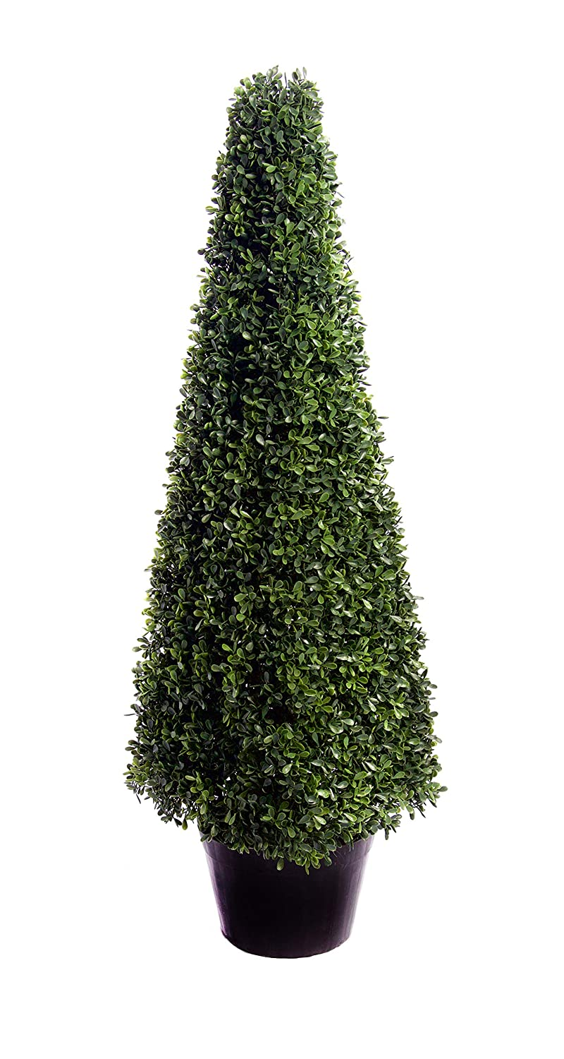 Best Artificial 3ft 90cm Pyramid Boxwood Buxus Tree