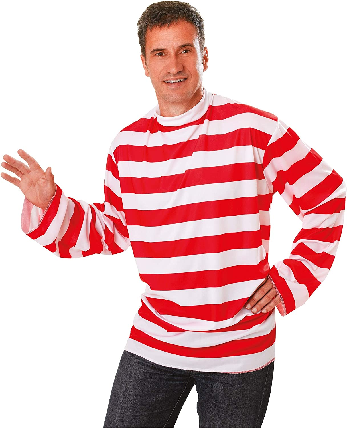 Striped - Disfraz de Wally para hombre, talla 52-54 (AC175 ...