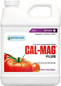 Botanicare HGC732110 Cal-Mag Plus Calcium Magnesium & Iron Plant Supplement, Quart