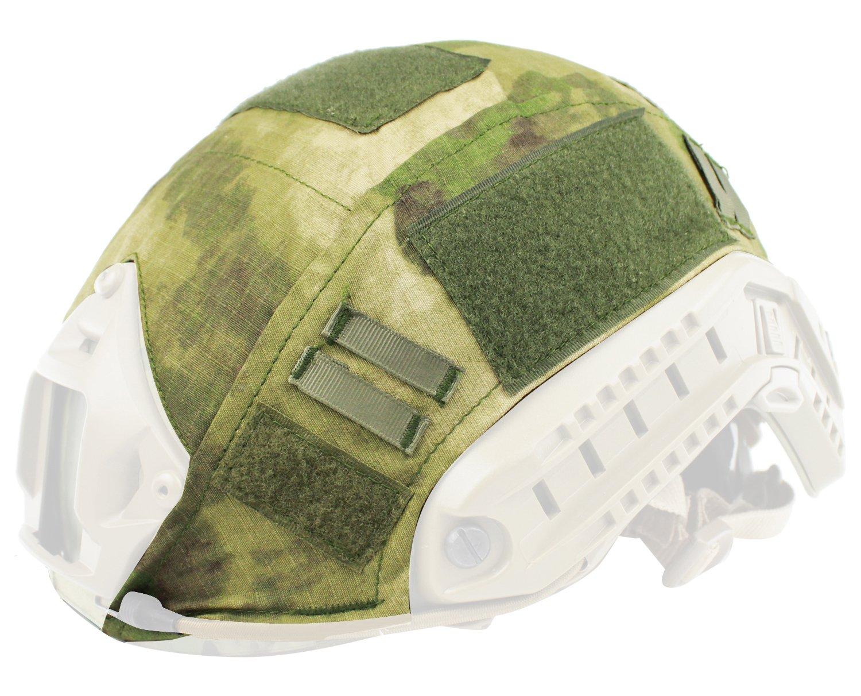 Oarea wosport rápido casco para Airsoft táctico militar camuflaje casco cubierta, ACU