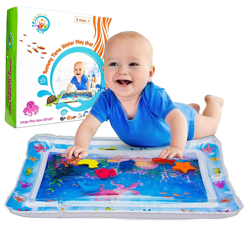 Alfombra de juegos con agua, juguete para niños pequeños, colchoneta de agua para niños, propicio para el crecimiento del bebé juguete para niños pequeños colchoneta de agua para niños propicio para el crecimiento del bebé