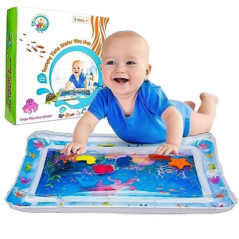 Alfombra de juegos con agua, juguete para niños pequeños ...