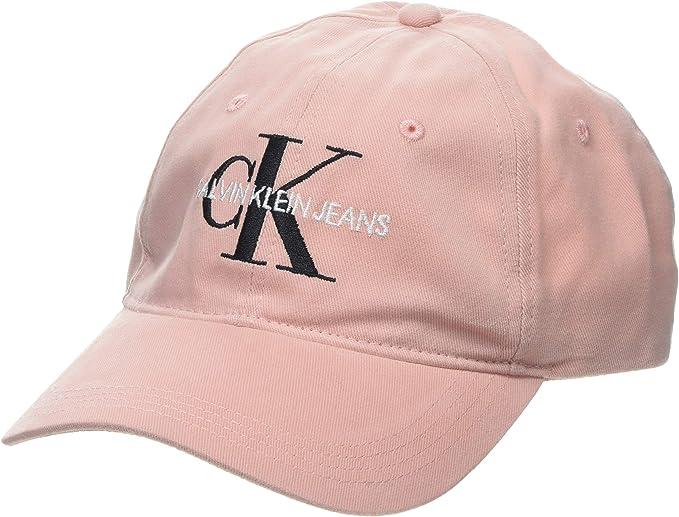 Calvin Klein J Monogram Cap W Gorra de béisbol para Mujer: Amazon ...