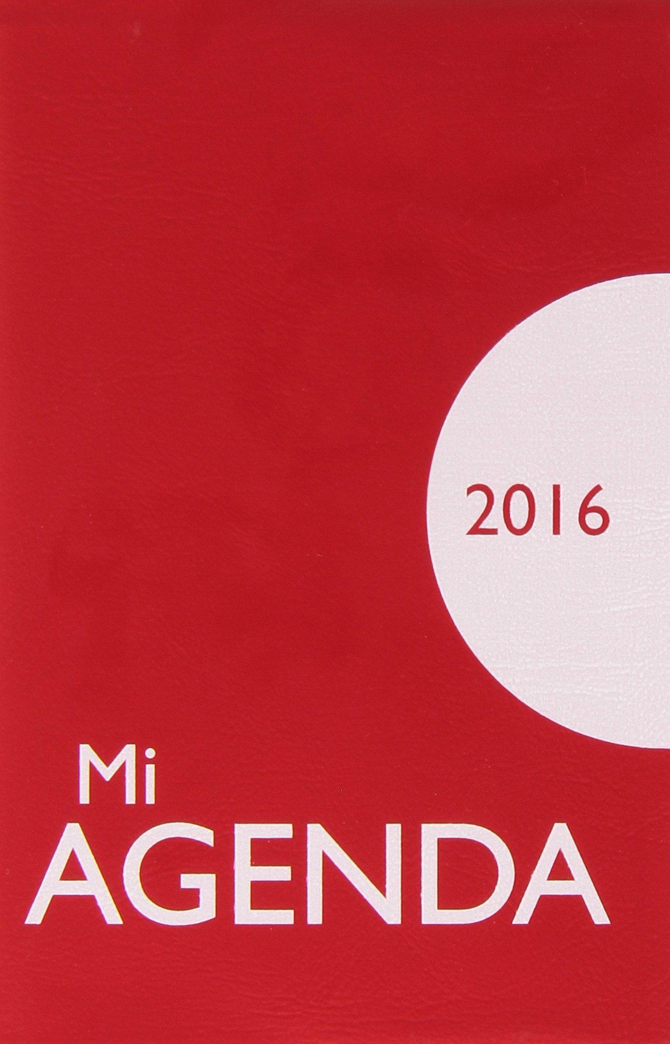 Mi Agenda 2016 Con Funda De Plastico 12 X 7, portadas con ...