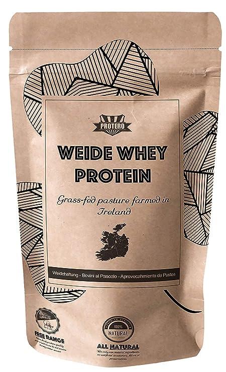 Protero Weide Whey Protein - Grass Fed (Puro, 1kg): Amazon.es: Salud y cuidado personal