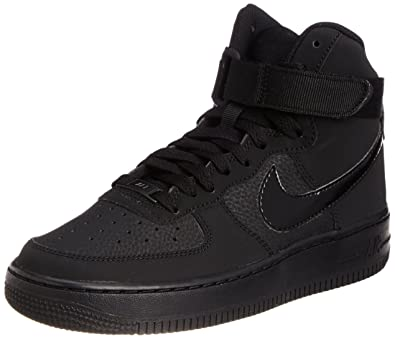 559891d9876 Nike AIR Force 1 HIGH (GS) Black Black-Black