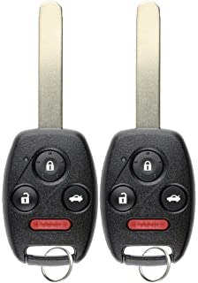 DRIVESTAR Keyless Entry Remote Car Key Replacement for 2003 2004 2005 2006 2007 Accord Replacement for OUCG8D-380H-A
