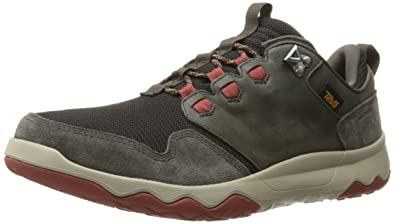 c960a1bc34b Teva Men's M Arrowood Waterproof Hiking Shoe, Black Olive/Fired Brick, ...