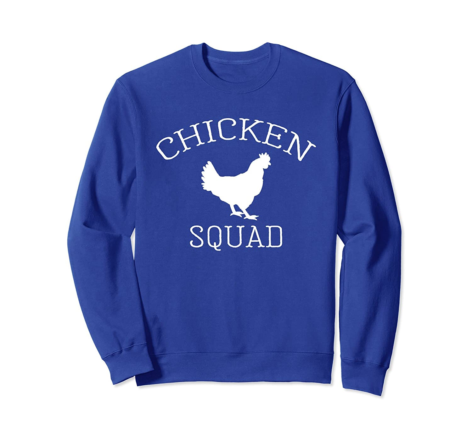 Chicken Squad Sweatshirt Agriculture Farm Animal Life Lover-AZP