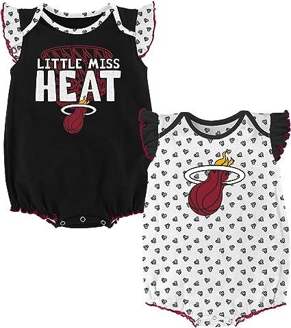 NBA Miami Heat Baby One Piece Bodysuit