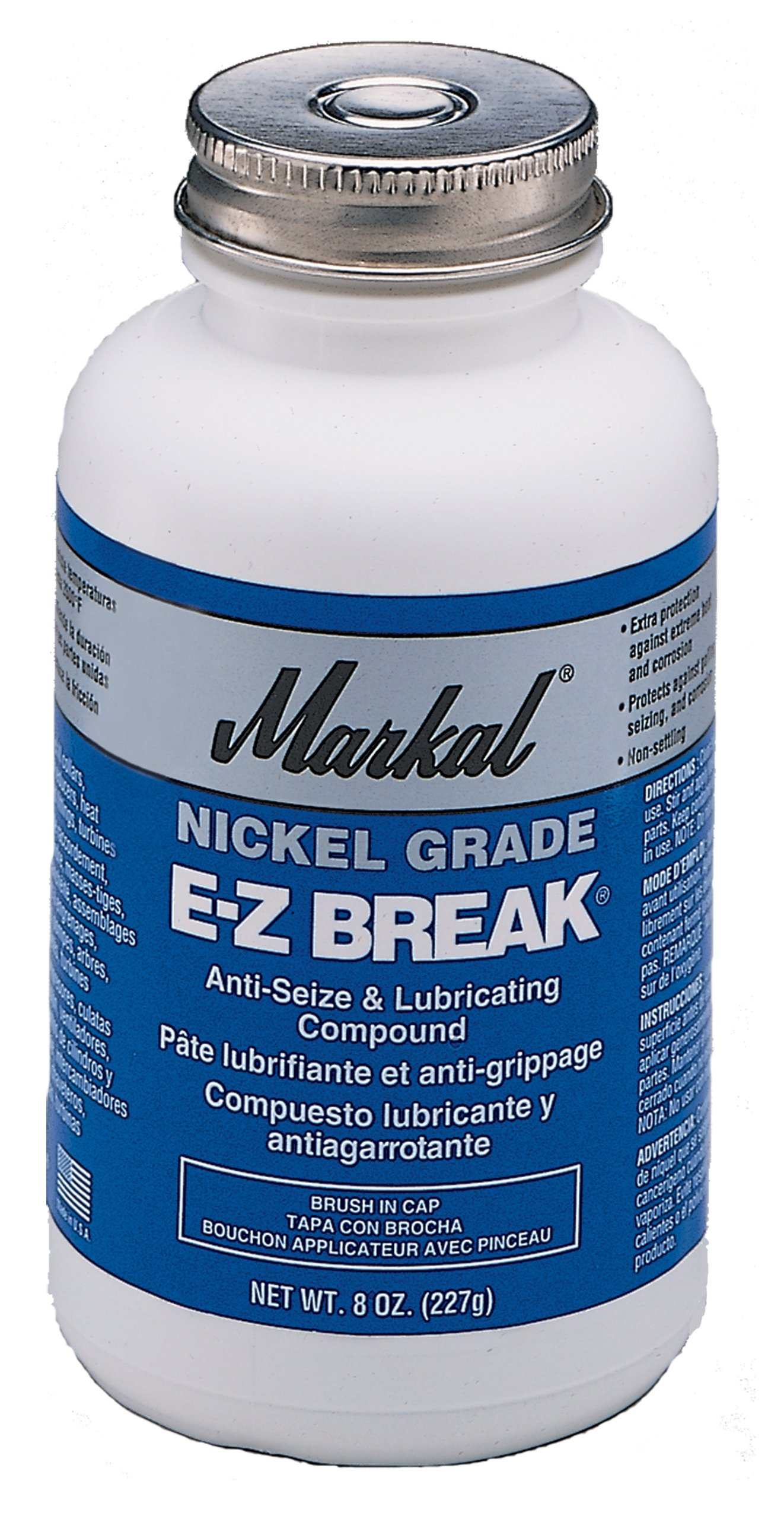 LA-CO EZ Break Nickel Grade Antiseize Paste, 2600 Degree F Temperature, 42 lbs
