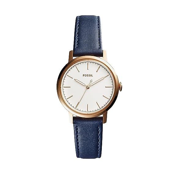 Fossil Mit Es4338Uhren Quarz Leder Armband Analog Damen Uhr D9IEH2