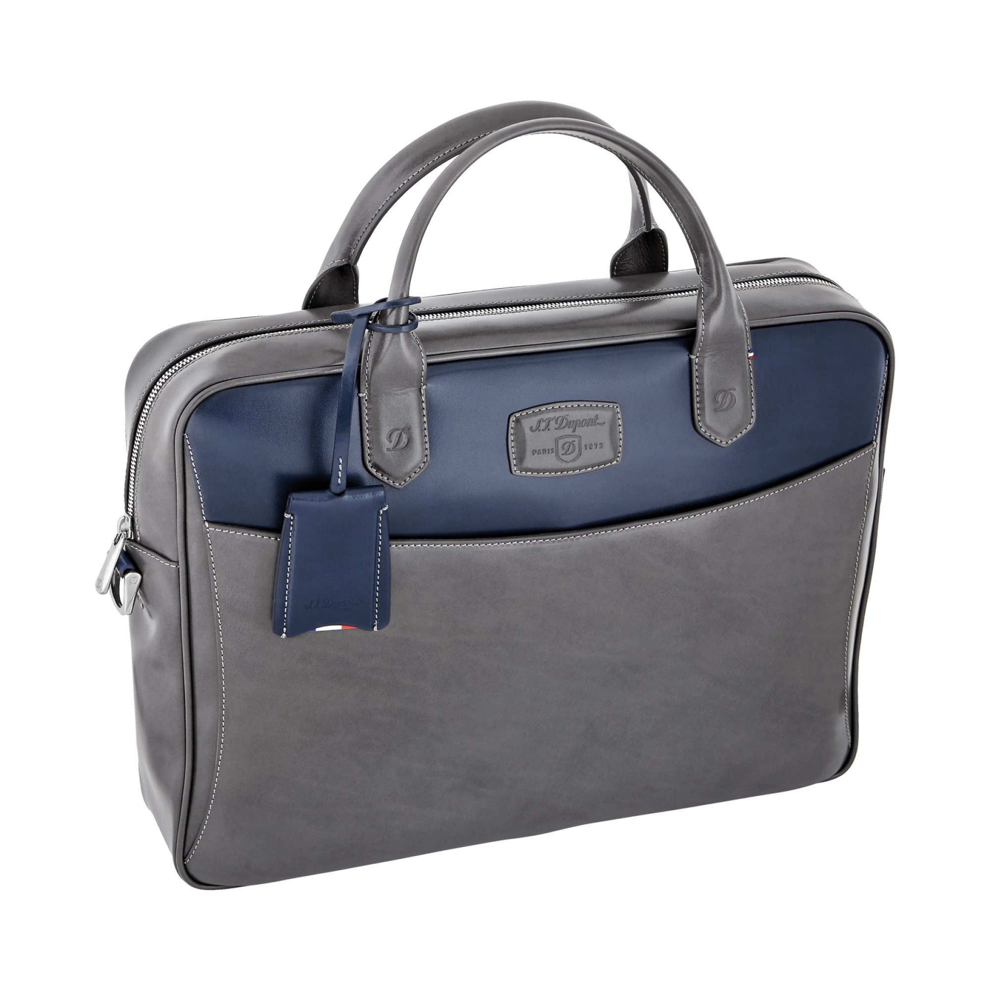 S.T. Dupont 181590 Line D Navy Blue/Grey Document Holder by S.T. Dupont