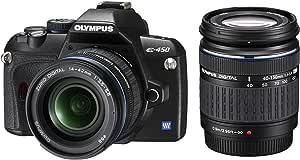 Olympus E-450 - Cámara réflex Digital 10 MP (Objetivo 14-42 mm y ...