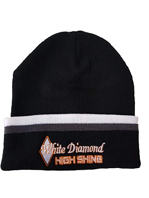 ec65244bd17 White Diamond Detail Products High Shine Beanie Hat  Amazon.co.uk  Car    Motorbike