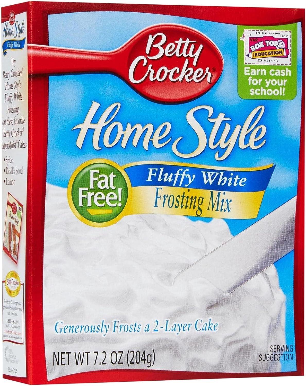 Betty Crocker Home Style Frosting Mix - Fluffy White - 7.2 oz