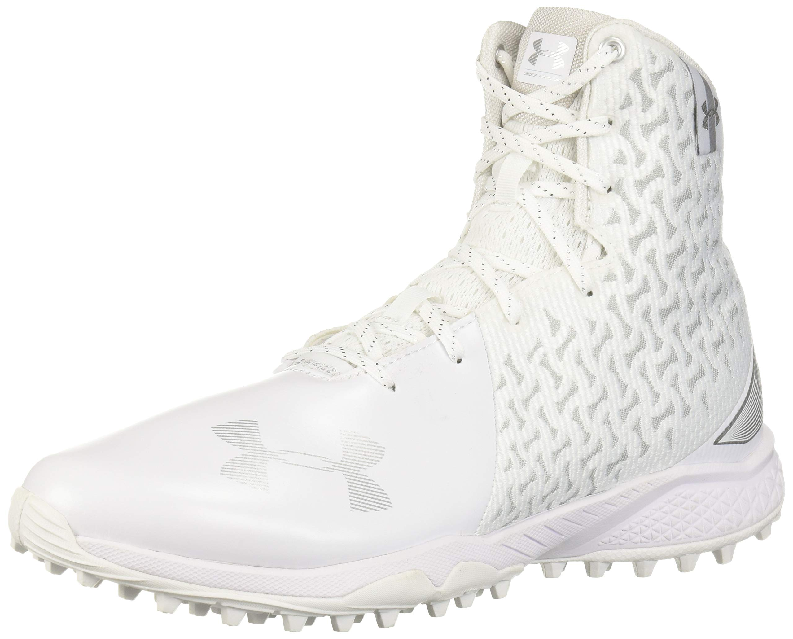Under Armour Women's Highlight Turf Lacrosse Shoe, White (100)/, 10.5 by Under Armour