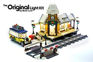 Brick Loot Winter Village Station Lighting Kit for Your Lego Set 10259 by Lego Set NOT Included