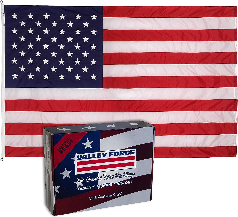 8 X 12 Nylon American Large Flag 8X12 New United States Flag 8X12 Banner US Made