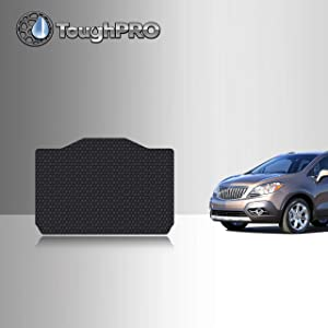 TOUGHPRO Cargo/Trunk Mat Accessories Compatible with Buick Encore - All Weather - Heavy Duty - (Made in USA) - Black Rubber - 2013, 2014, 2015, 2016, 2017, 2018, 2019, 2020
