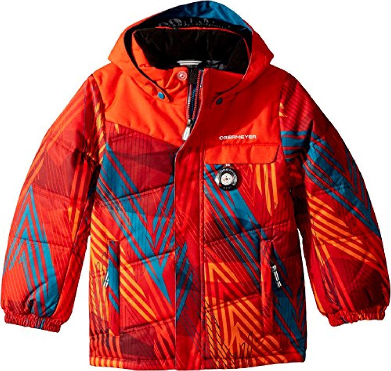 Obermeyer Kids Baby Boy's Hawk Jacket (Toddler/Little Kids/Big Kids) Thunder Red 1T