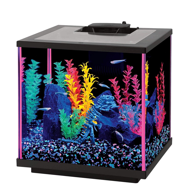 Aqueon LED MiniBow Aquarium Starter Kits LED Lighting Renewed