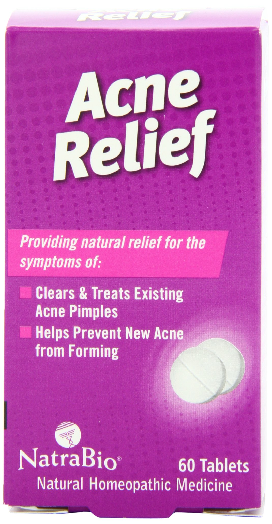 Natrabio Acne Relief Tablets, 60 Count