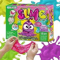 Slime Kit, Slime Kits for Girls Boys, Jorunb 16Pcs Slime Making Kits Slime Supplies, Glow in Dark Glitter Slime Making…