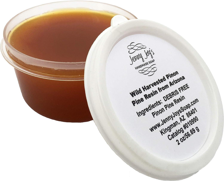 Jenny Joy's Soap Pinon (Pinyon) Pine Refined Resin Incense from Arizona 2 oz.