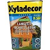 Xyladecor natürliche Langzeit-Schutzlasur, 4 Liter in Nussbaum