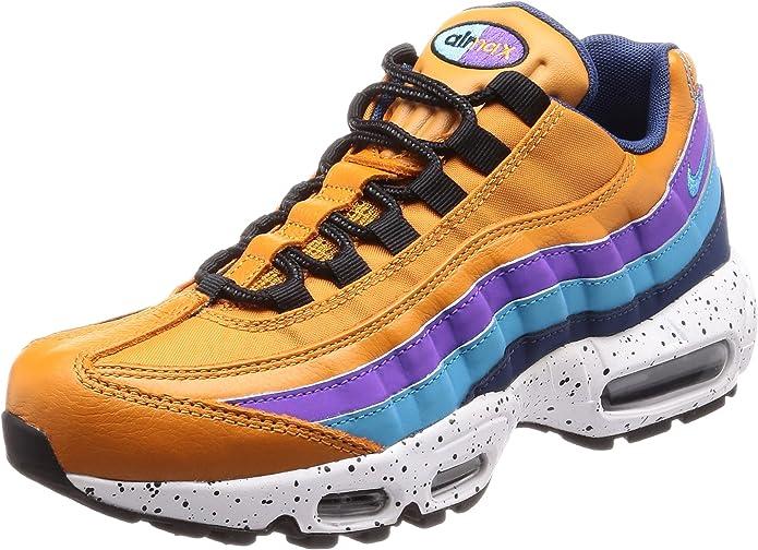 Nike Scarpe Uomo Air Max 95 Premium in Pelle Multicolor