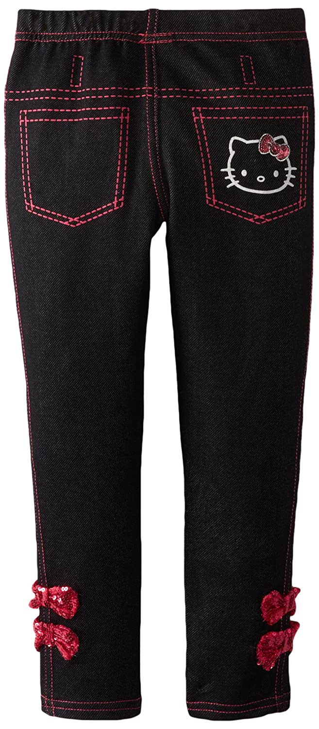 2568d79d7 Jeans Hello Kitty Girls Jeggings Anthracite 6X Weeplay Character Children's  Apparel Clothing, Shoes & Jewelry