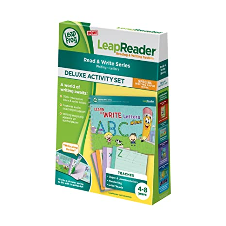 Amazon.com: LeapFrog LeapReader Deluxe Writing Workbook: Learn to ...