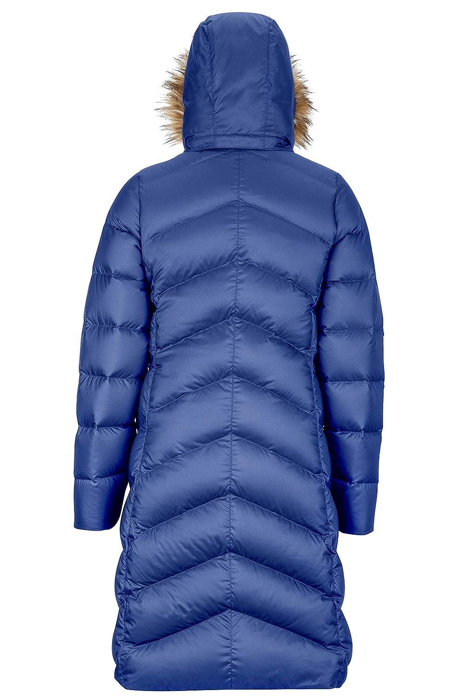 2c2ca8ea714 Amazon.com: Marmot Montreaux Women's Full-Length Down Puffer Coat, Fill  Power 700: Clothing