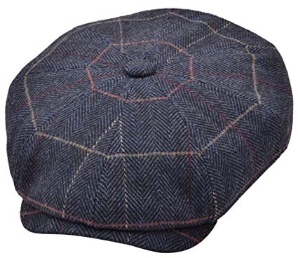 1b5349c0 Mens Baker Boy Caps Newsboy Hat Country Style Gatsby Hat Flat Cap:  Amazon.co.uk: Clothing