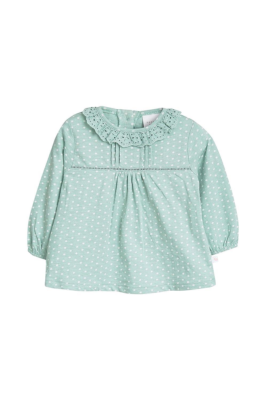M/ädchen T-Shirts Mit R/üschenkragen 2Er-Pack next Baby