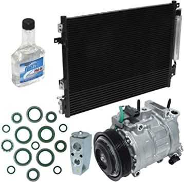 A//C Compressor /& Component Kit-Compressor-Condenser Replacement Kit UAC KT 4805A