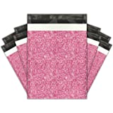 10x13 (100) Pink Confetti Designer Poly Mailers Shipping Envelopes Premium Printed Bags