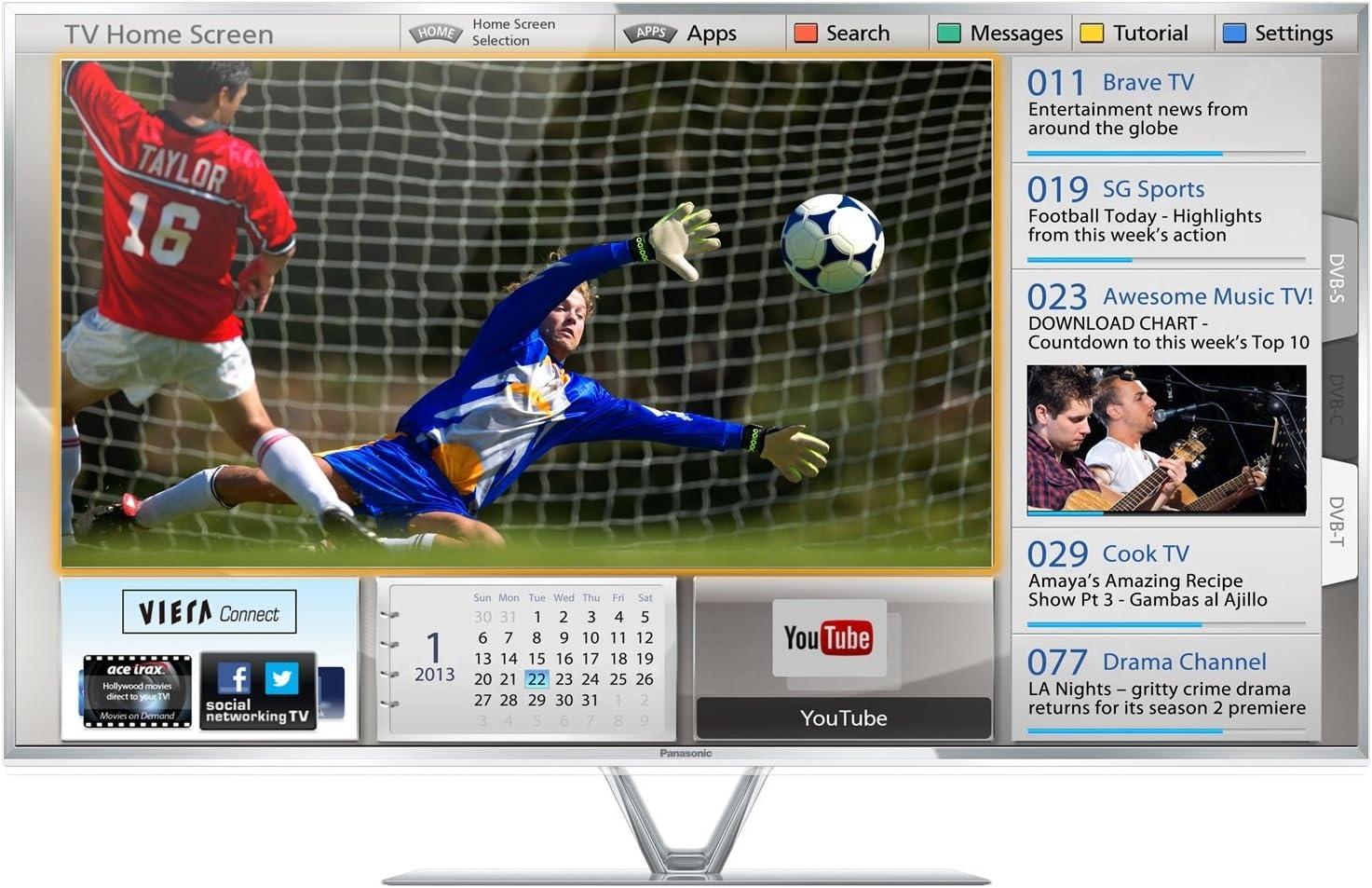 Panasonic TX-L42FT60E - Televisión LED de 42 pulgadas Full HD (con ...