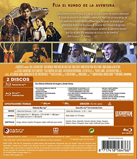 Han Solo: Una historia de Star Wars Edición remasterizada 2 ...