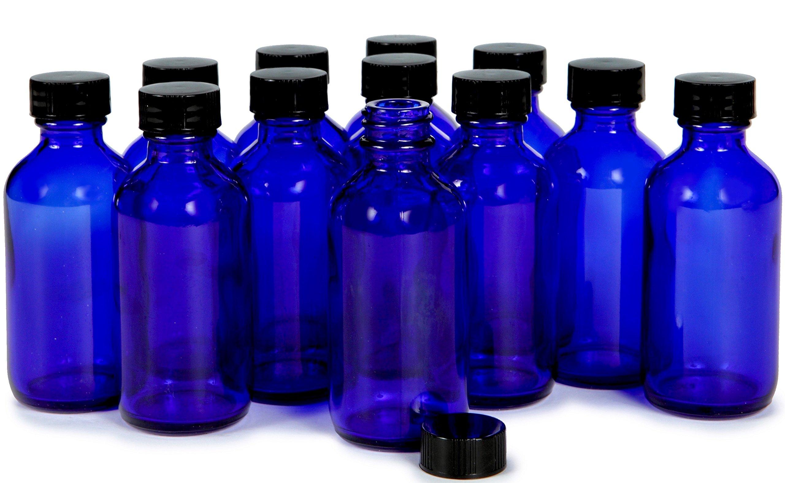 vivaplex 12 amber 2 oz glass bottles with lids beauty. Black Bedroom Furniture Sets. Home Design Ideas