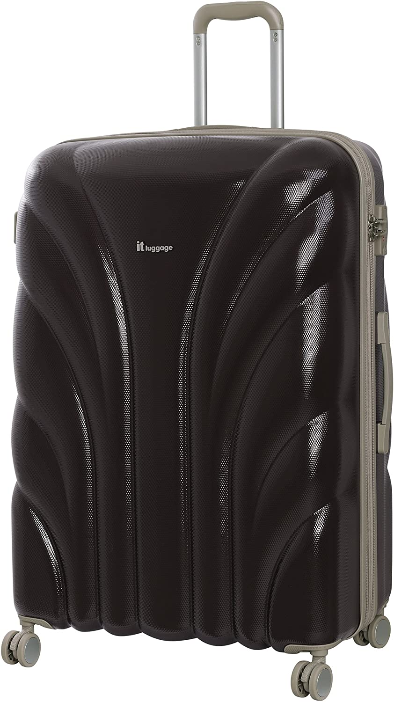 79 cm it luggage Cascade 8 Wheel Hard Shell Single Expander Suitcase Large With Tsa Lock Valigia