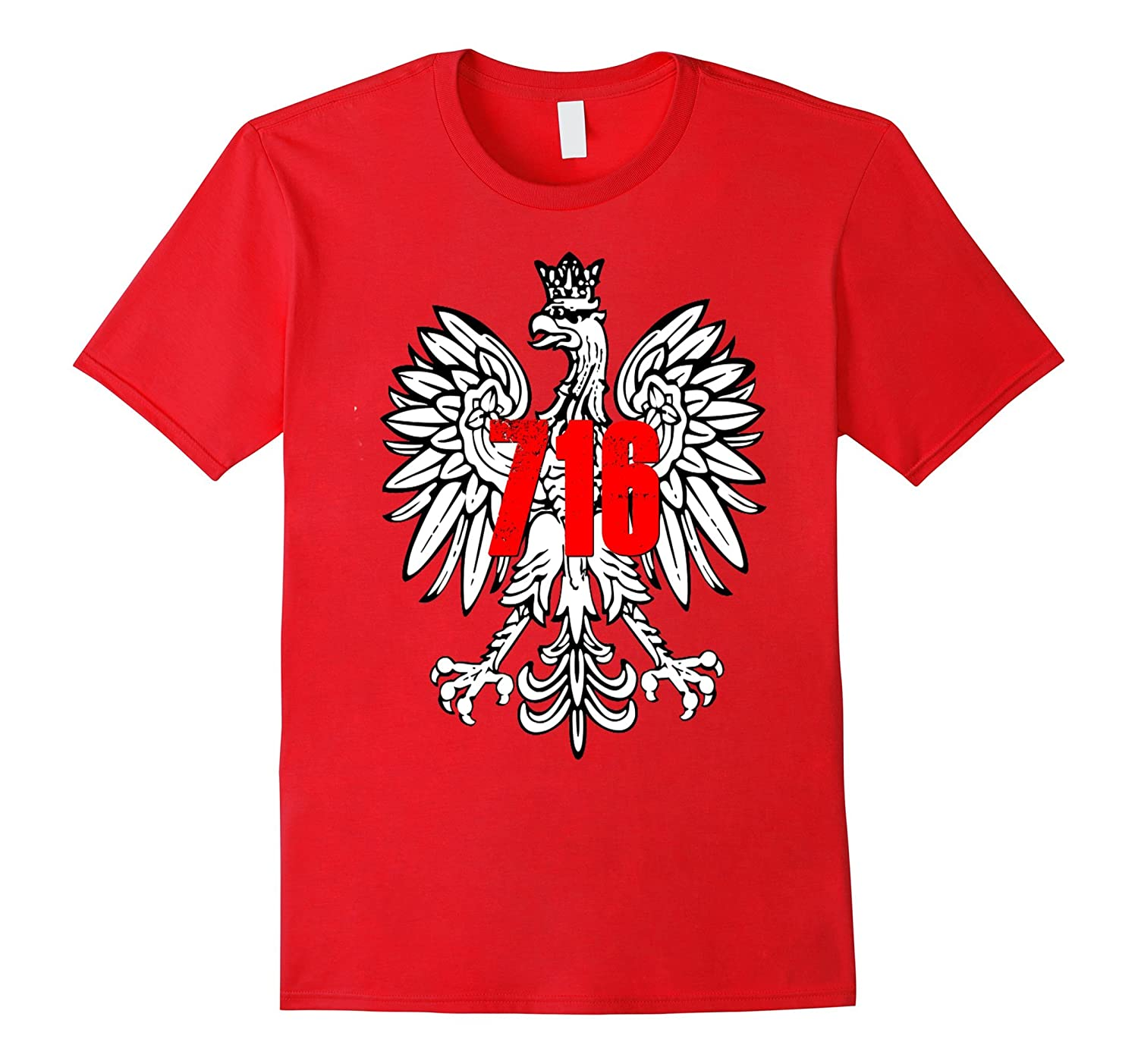 Buffalo NY 716 Polish Pride Shirt Poland Eagle Dyngus Day-TH