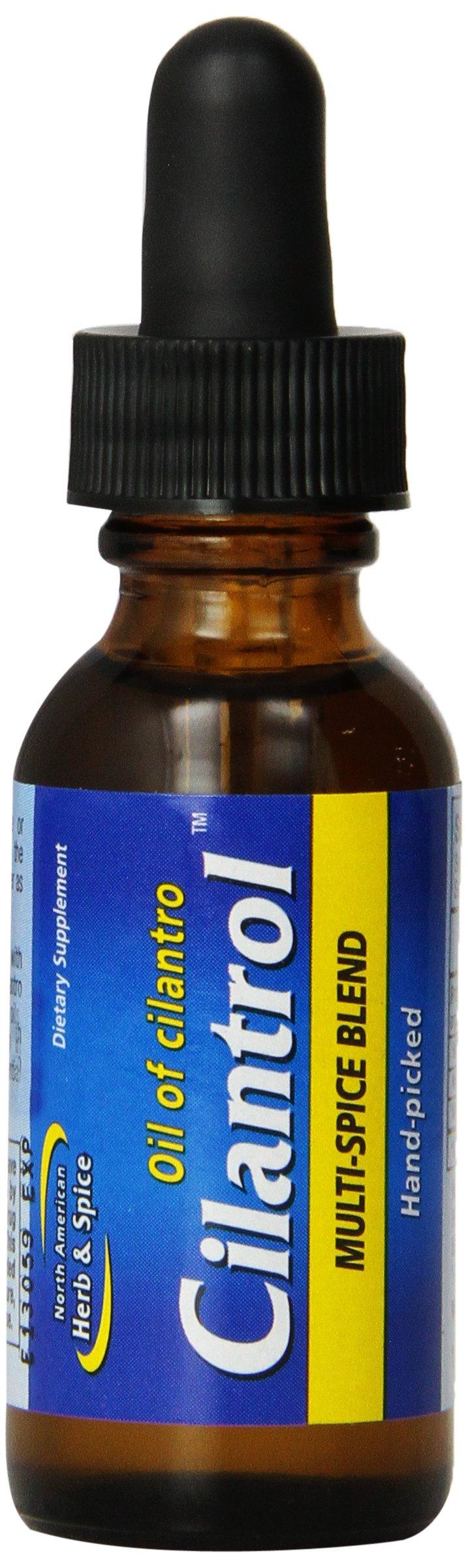 North American Herb and Spice, Cilantrol, Oil of Cilantro, Multi-spice Blend, 1-Ounce