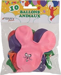 sans marque Lot de 10 Ballons A Gonfler Animaux