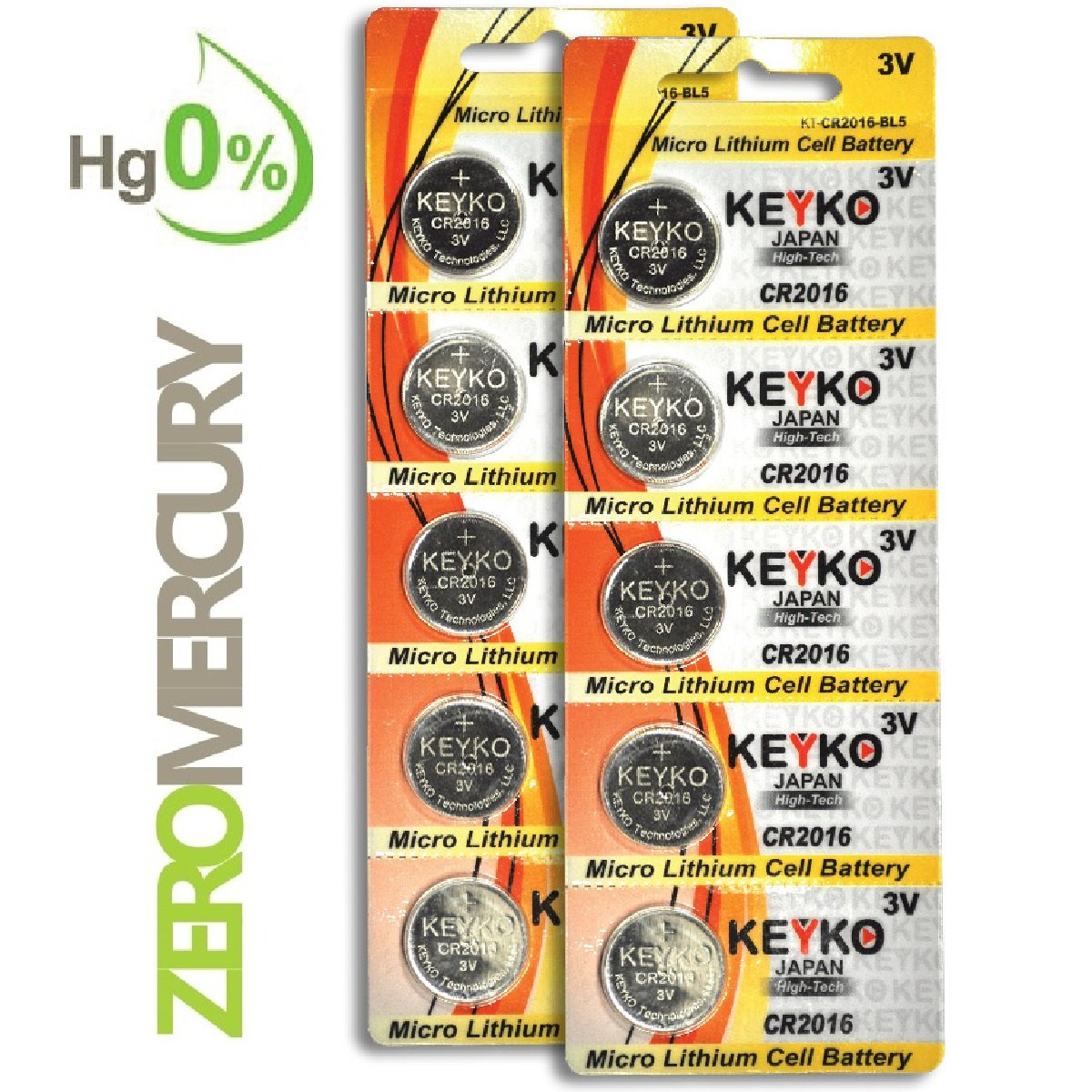 CR2016 Battery 3V Lithium Coin Cell Battery Type 2016   DL2016   ECR2016  Genuine KEYKO. Amazon com  10 Pcs Lithium Coin Loopacell Battery 3v For Keyless