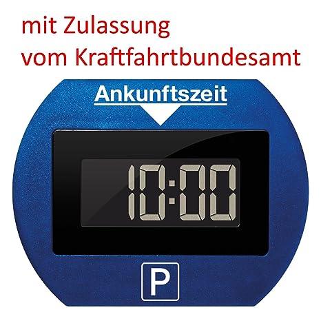 Park Lite 4251511945915 Needit - Reloj digital de aparcamiento con autorización oficial, color azul